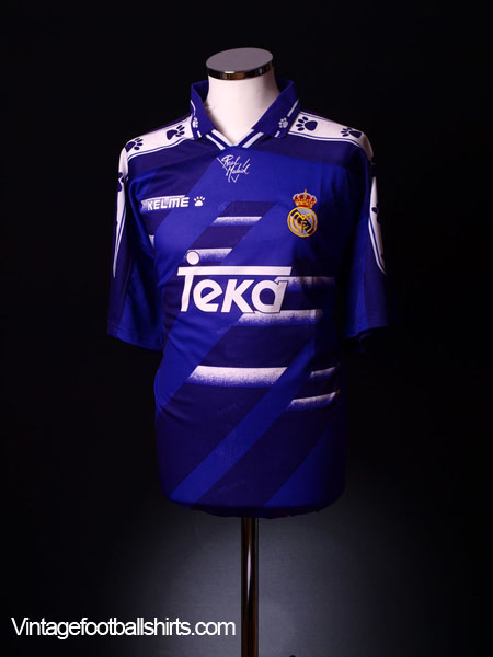 1994-96 Real Madrid Away Shirt XL