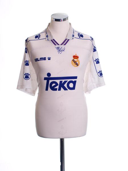 1994-96 Real Madrid Home Shirt M