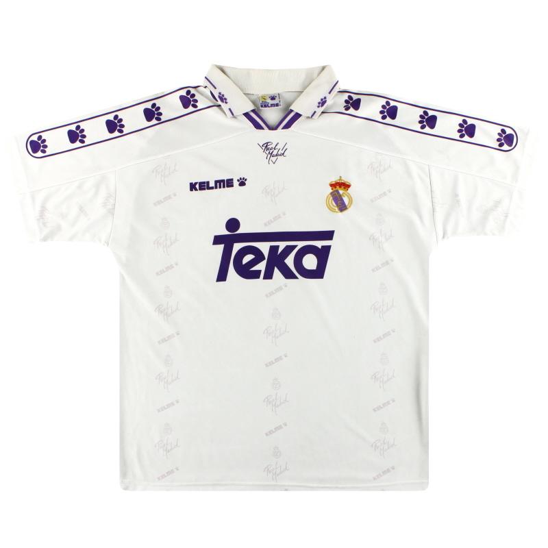 1994-96 Real Madrid Kelme Home Shirt S