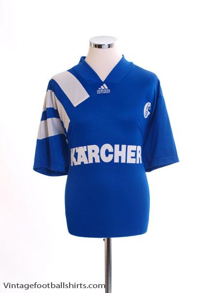 1994-96 Schalke Home Shirt XL