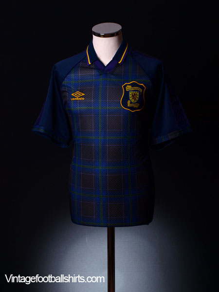 1994-96 Scotland Home Shirt XL