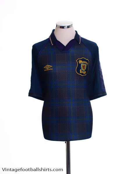 1994-96 Scotland Home Shirt XL