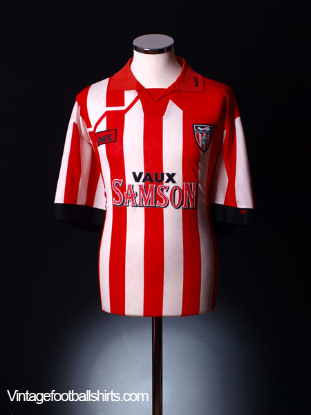 1994-96 Sunderland Home Shirt XL