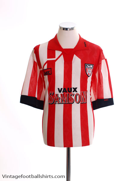1994-96 Sunderland Home Shirt M