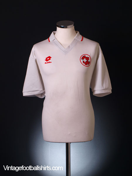 1994-96 Switzerland Away Shirt XL