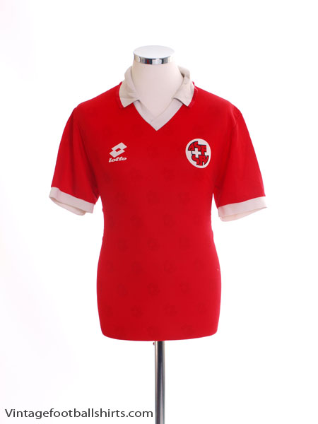 1994-96 Switzerland Home Shirt M
