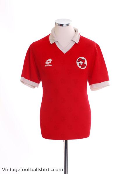 1994-96 Switzerland Home Shirt XL