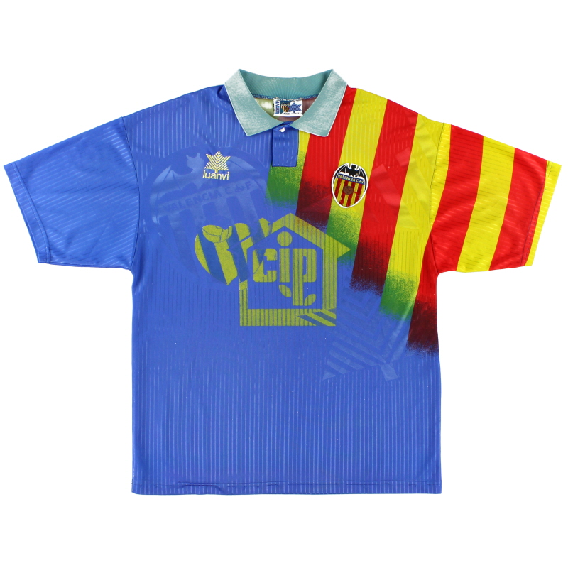1994-96 Valencia Third Shirt M