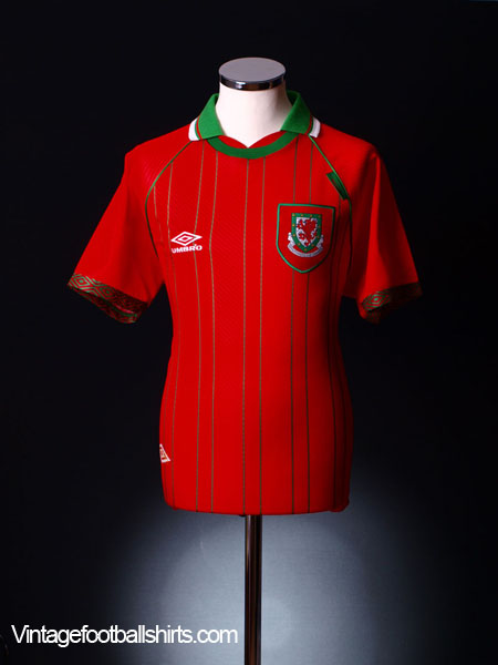 1994-96 Wales Home Shirt *BNIB* XL