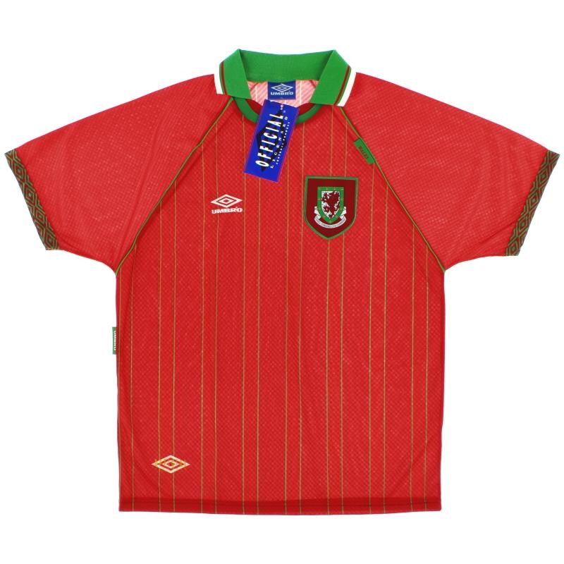 1994-96 Wales Home Shirt *BNIB* XL - 734365