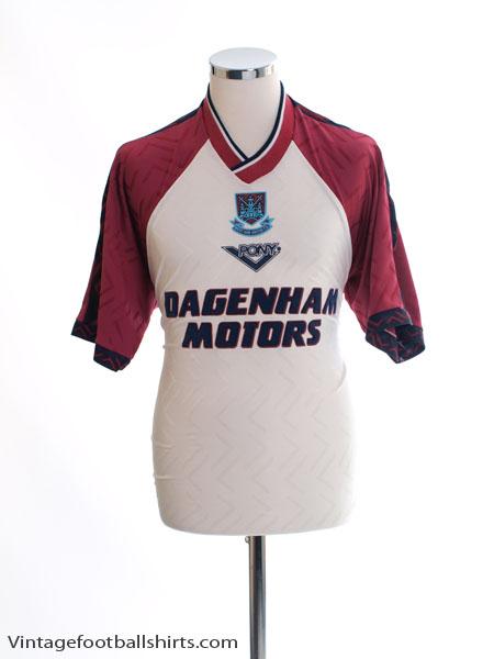 1994-96 West Ham Third Shirt M