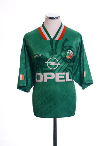 1994 Ireland Home Shirt *Mint* L - ire94hs