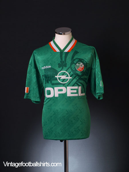 1994 Ireland Home Shirt M