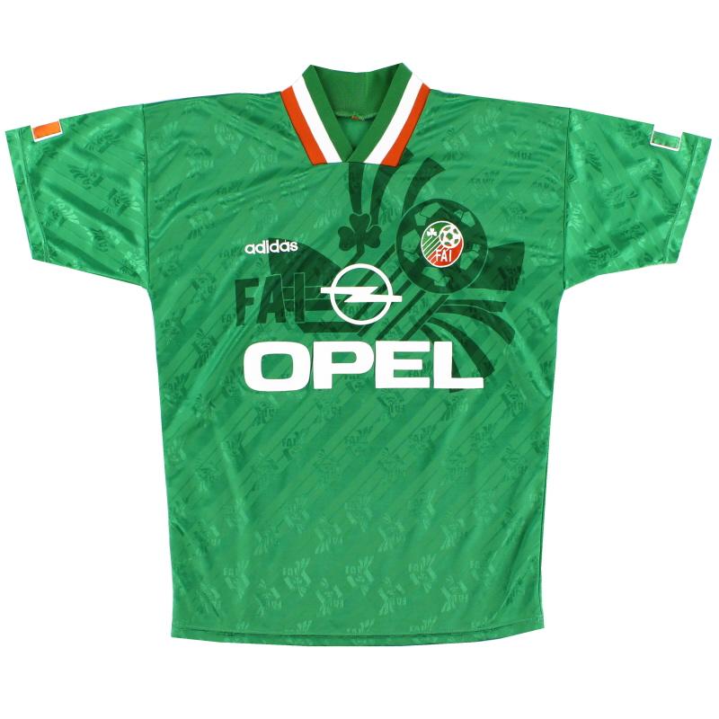 1994 Ireland adidas Home Shirt M