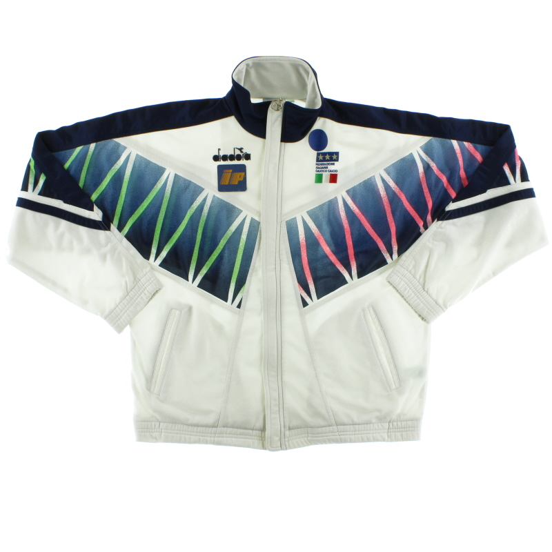1994 Italy Player Issue Diadora Track Jacket M