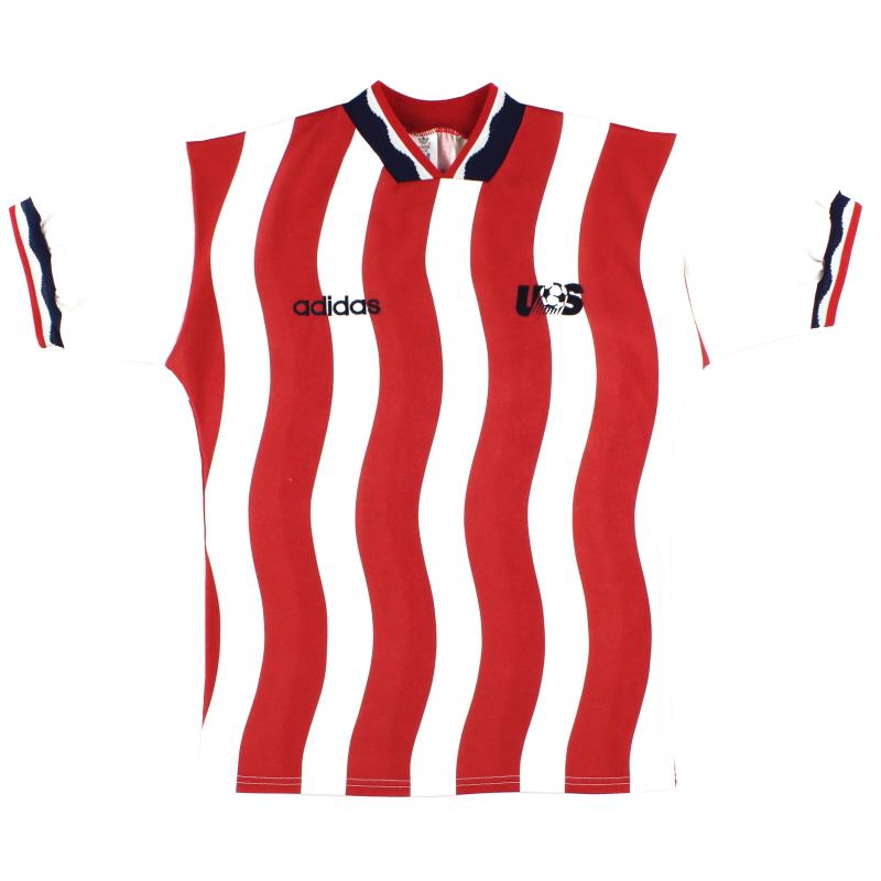 1994 USA Home Shirt L - 023577