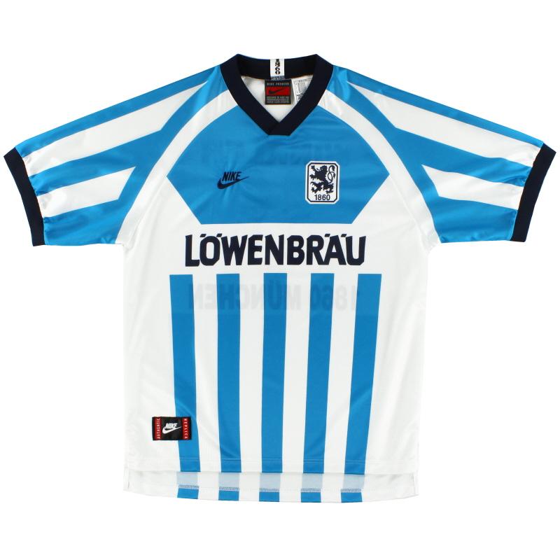 1995-96 1860 Munich Nike Home Shirt XS