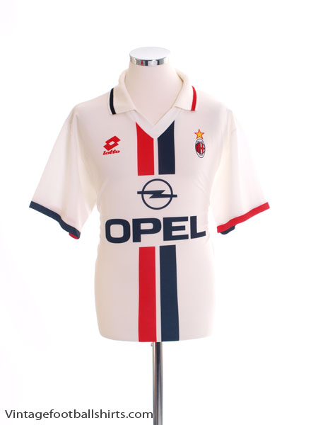 1995-96 AC Milan Away Shirt XL