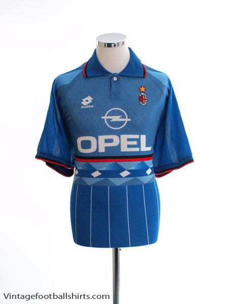 1995-96 AC Milan Fourth Shirt XXL