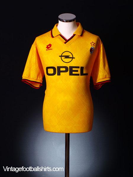 1995-96 AC Milan Fourth Shirt XL