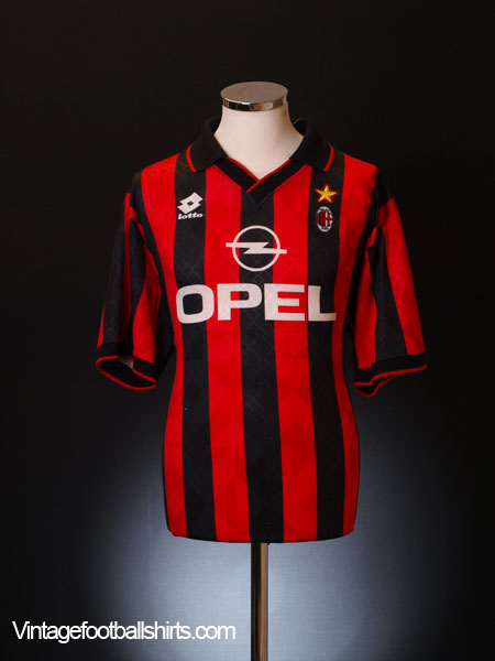 1995-96 AC Milan Home Shirt L
