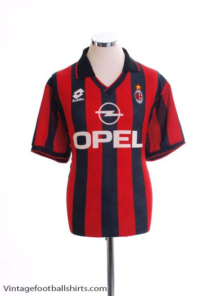 1995-96 AC Milan Home Shirt XL