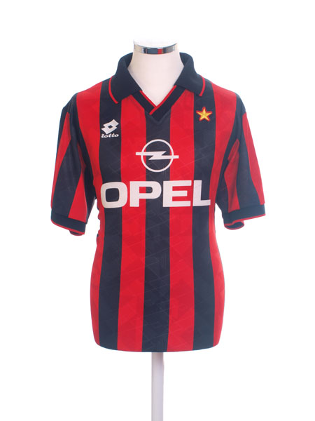 1995-96 AC Milan Home Shirt M