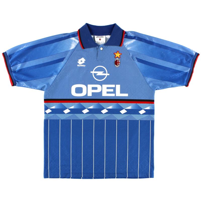 1995-96 AC Milan Lotto Fourth Shirt XXL