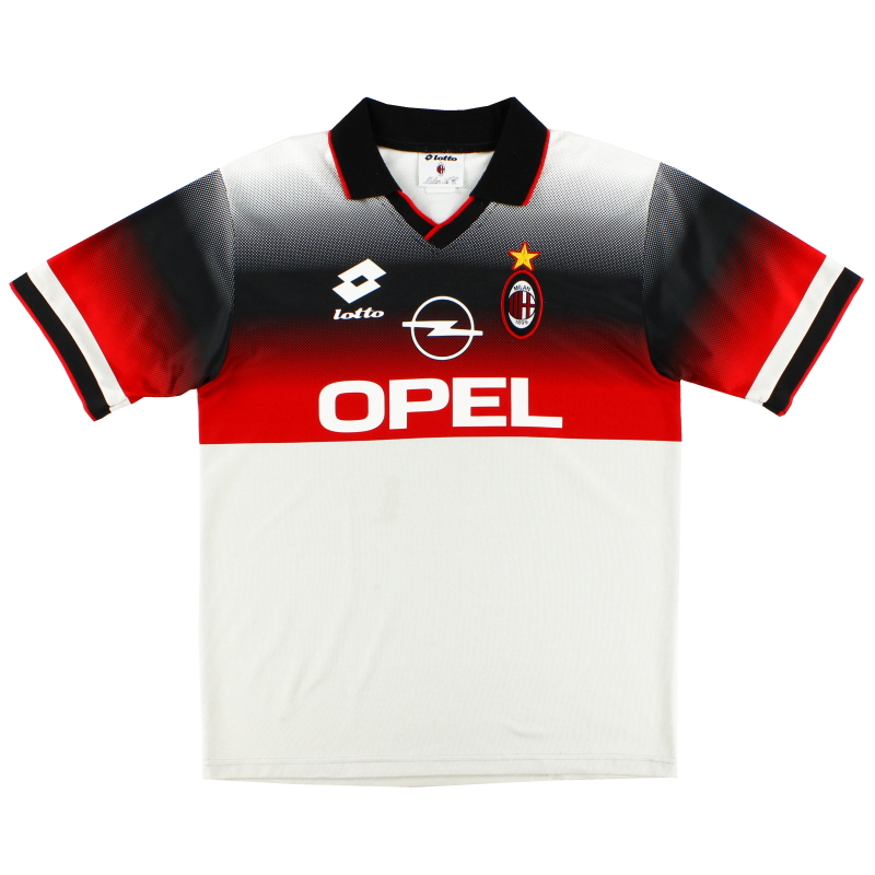 1995-96 AC Milan Lotto Training Shirt XL