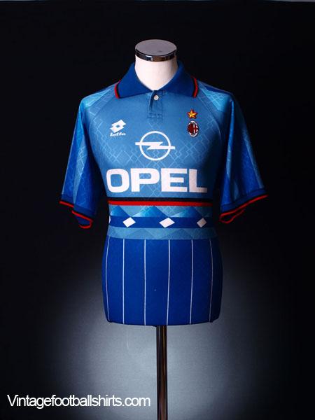 1995-96 AC Milan Third Shirt XL