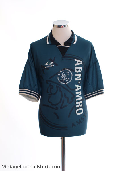 1995-96 Ajax Away Shirt XL