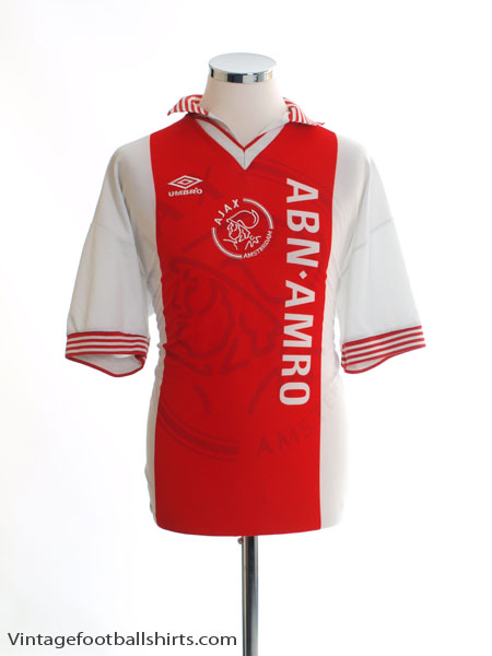 1995-96 Ajax Home Shirt XXL
