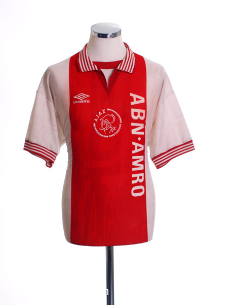 1995-96 Ajax Home Shirt *As New* S