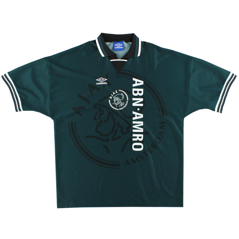 1995-96 Ajax Umbro Away Shirt XL