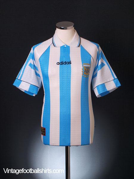 1995-96 Argentina Home Shirt L