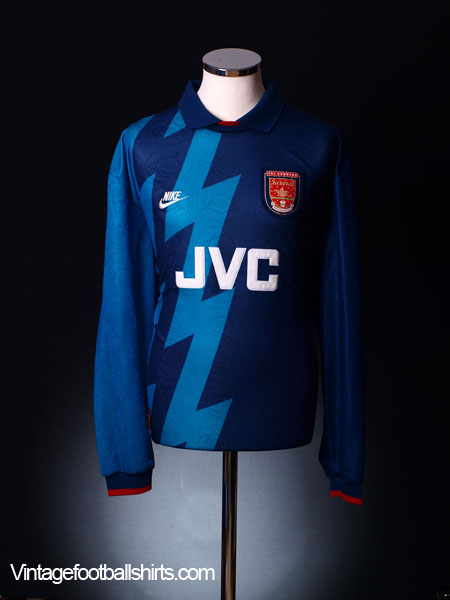 quality design 62e30 571a5 1995-96 Arsenal Away Shirt L/S XL for sale