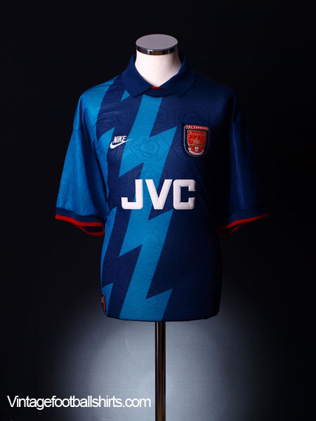 1995-96 Arsenal Away Shirt *Mint* XL