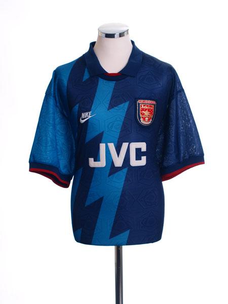 1995-96 Arsenal Away Shirt L.Boys