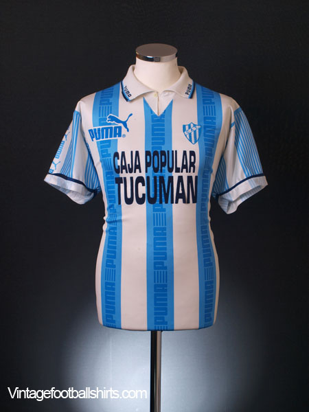 1995-96 Atletico Tucuman Home Shirt M