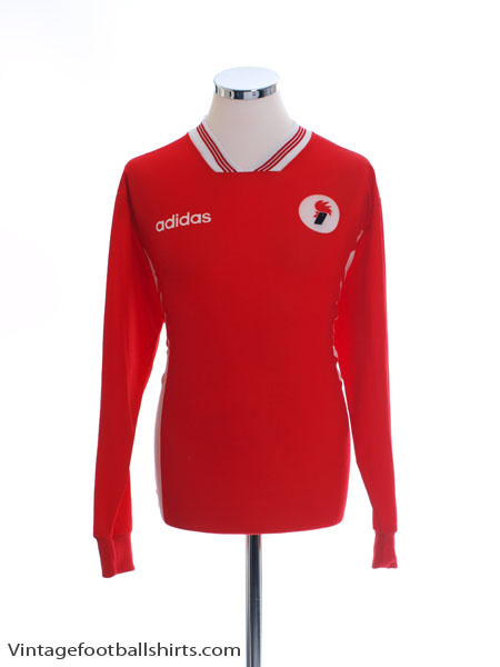 1995-96 Bari Away Shirt L/S XL