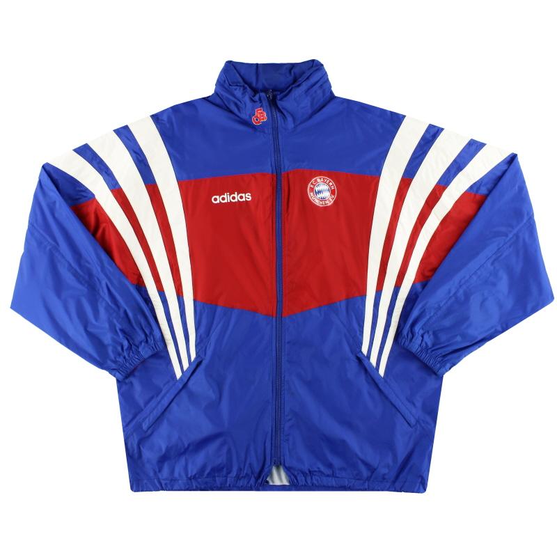 1995-96 Bayern Munich adidas Rain Coat *Mint* L/XL