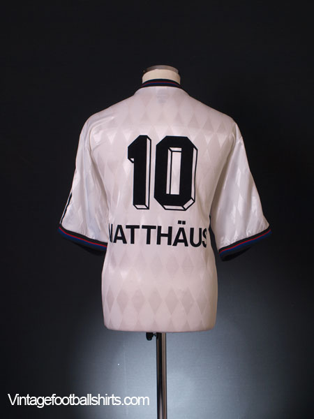 1995-96 Bayern Munich Away Shirt Matthaus #10 L