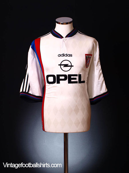 1995-96 Bayern Munich Away Shirt S
