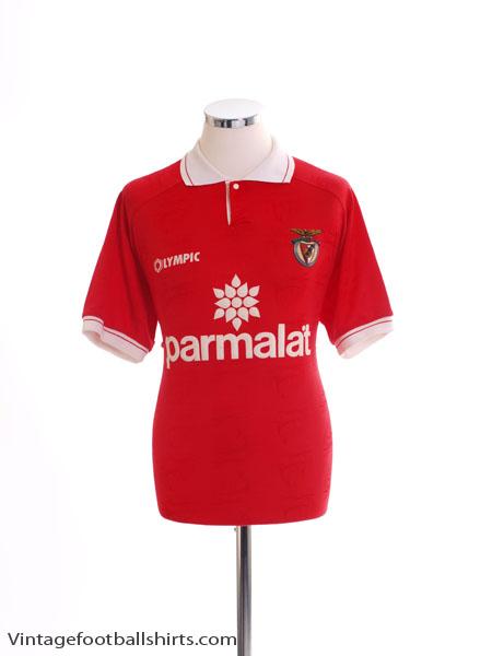 1995-96 Benfica Home Shirt L