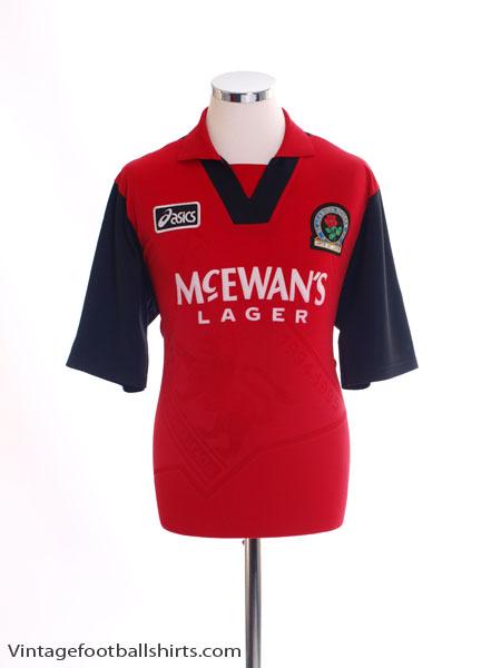 1995-96 Blackburn Away Shirt L