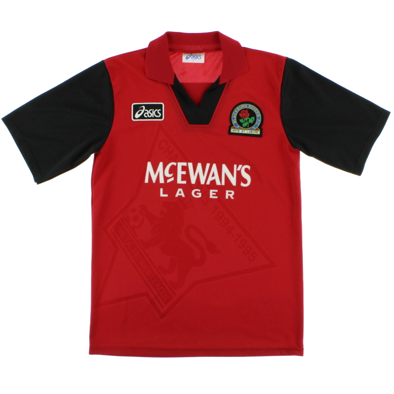 1995-96 Blackburn Away Shirt S