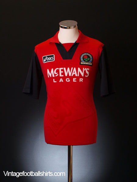 1995-96 Blackburn Away Shirt L