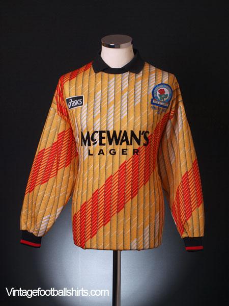 1995-96 Blackburn Goalkeeper Shirt *As New* M