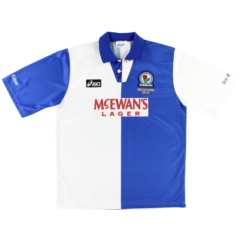1995-96 Blackburn 'Champions' Home Shirt XL