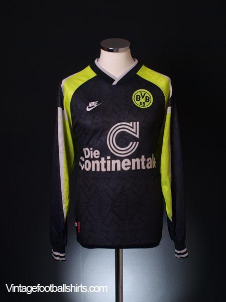 1995-96 Borussia Dortmund Away Shirt *Mint* L/S S